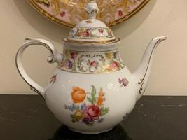 Bavaria Schumann Empress Dresden Flowers Teapot - $199.00