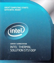 Intel Passive Heatsink STS100P BXSTS100P For Intel Servers - New And Sealed! - $16.23