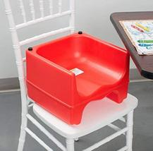 RED Dual Height Plastic NSF Stackable Restaurant Booster Seat by LowPric... - $49.01