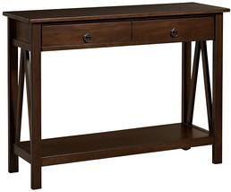 Linon Home Dcor 86152ATOB-01-KD-U Console Table, 42.01' W X 13.98' D X 3... - $152.70