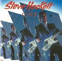 STEVE HACKETT - TIME LAPSE LIVE 1992 - Gently Used CD - 14 Songs - FREE ... - $9.99