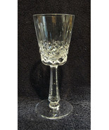 """GALWAY Cut Crystal - CLIFDEN Pattern - 7 3/4"""" WATER GOBLET - $24.95"""
