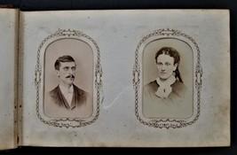antique PHOTOGRAPH ALBUM pottstown pa HANNAH E MACK family friends mauch... - $295.00