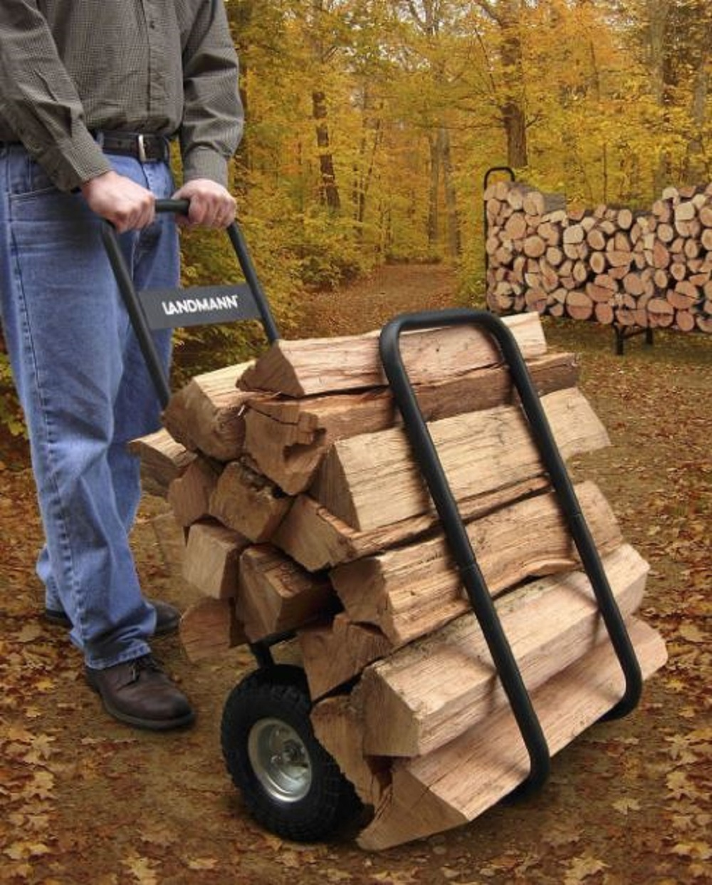 Log cart and cover use