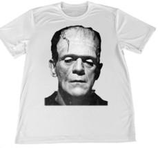 1960's Frankenstein Monster Wicking T-Shirt w American Flag Car Coaster - $14.95
