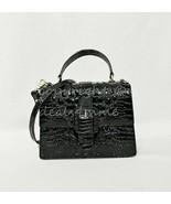 NWT Brahmin Mini Francine Satchel/Shoulder Bag in Black Melbourne - $239.00