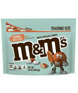M&M's Orange Vanilla Creme Cream Flavor 9oz Bag - Limited Edition, Exp 1... - $12.70