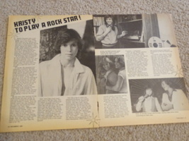 Kristy Mcnichol teen magazine pinup clipping to play a rock star Teen Beat Bop