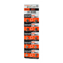 Maxell 1.5V Alkaline Cell Battery (10pcs per pack), LR41 - $9.98