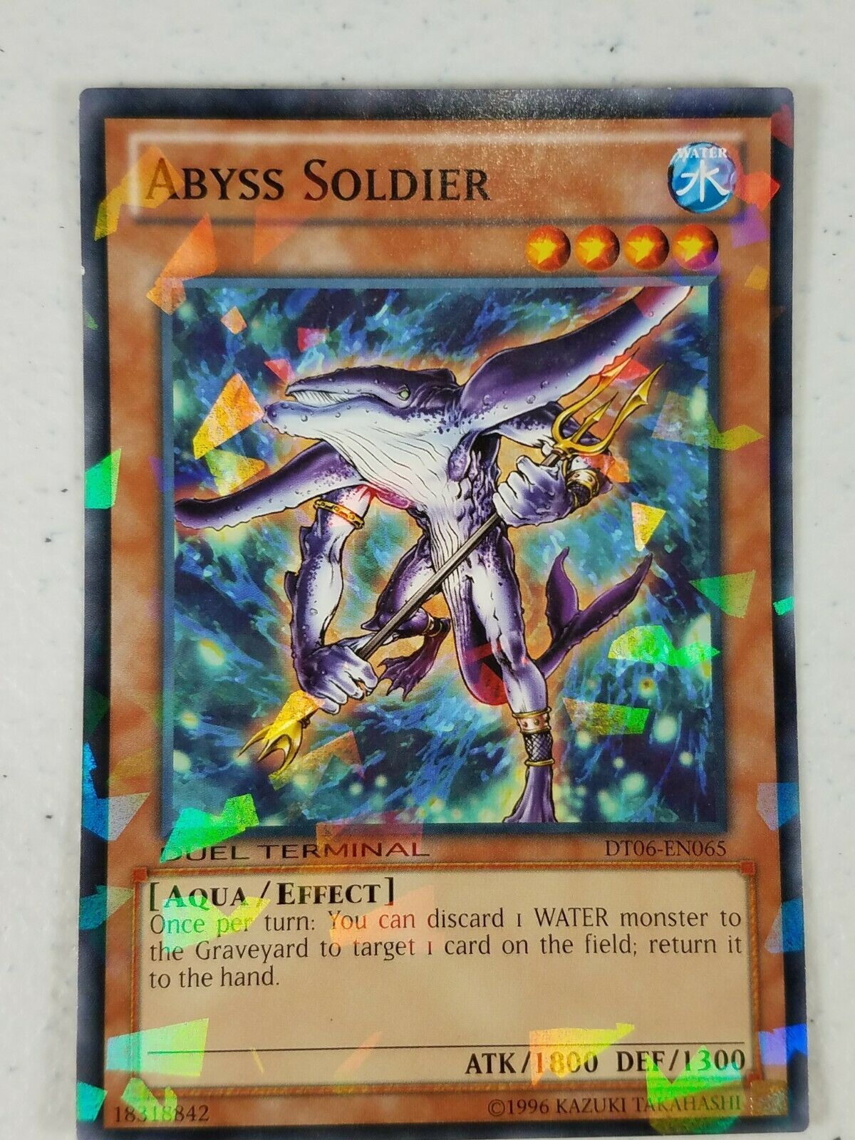 Yu-gi-oh! Trading Card - Abyss Soldier - DT06-EN065 - Normal Parallel Rare