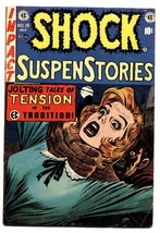 Shock SuspenseStories #15 comic book 1954-EC violent Jack Kamen cover - $424.38