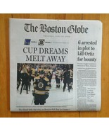 2019 St. Louis Blues Win Boston Globe Stanley Cup Finals Newspaper - $9.89