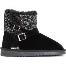 NEW!!! MUK LUKS Women's Pull On Boots - Alyx Black Ebony Size 9 (Med) - $34.99