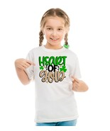 Heart of Gold Children's Shirt, St. Patricks Day Heart of Gold Shirt - $9.99+