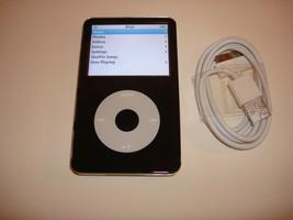 APPLE  iPOD  CLASSIC   5.5 GEN.  CUStOM   BLACK  30GB...NEW  HARD DRIVE... - $108.89