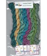 SILK FLOSS PACK for Peacock Pinwheels cross stitch chart Dinky Dyes - $28.80