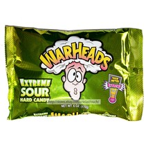 Warheads* 6oz-8oz Bag Hard Candy Extreme Sour Assorted Flavors Candies Exp.4/21+ - $3.19