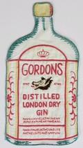 Gordons Distilled London Dry Gin Linen Cocktail Napkin - $150.00