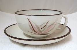 Dragon Flower Winfield China Pottery California Cup & Saucer Tea Coffee #A - $12.86