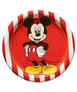 Disney Mickey Mouse Classic Dessert Plates Birthday Party Supplies 8 Per... - $4.11