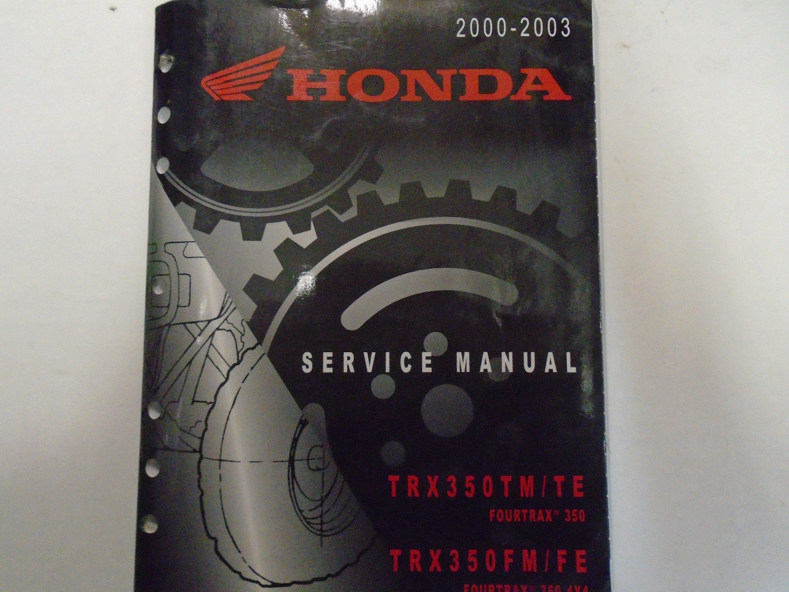 2000 2001 2002 2003 Honda TRX350TM FOURTRAX TE FM FE Service Manual OEM  Used ***