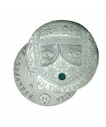 Russian Twin Moon Commemorative Metal Plated Omega Morgan Stamp HOBO COI... - £8.39 GBP