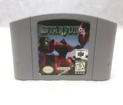 Starfox 64 - Genuine Authentic Nintendo 64 Game TESTED & Cleaned N64 - $18.80