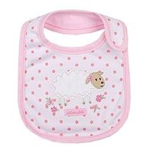 "Lovely Sheep/Dots Cotton/PVC Adjustable Waterproof Baby Bib Pocket Bib 612"""