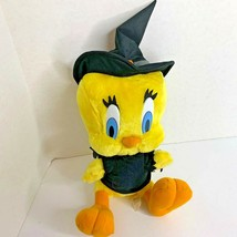 Ace Tweety Plush Stuffed Animal Toy Witch 12 in Seated 1998  - $17.59