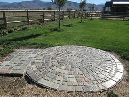 "DIY 6"" Keystone Concrete Cobble Molds #P6522-12 Make 1000s Pavers For Pennies Ea image 7"