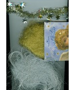 Silver and Gold  Craft Trim Mix Glitter Christmas  - $8.00