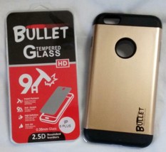 GOLD IPHONE6 PLUS BULLET CELL PHONE CASE & IMPACT RESISTANT PROTECTIVE G... - $6.31