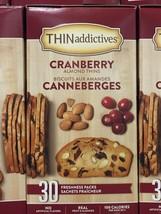BIG BOX 24oz./1.5lbs./681g./30packs Thin Addictives, Almond Thins Cranberry - $11.05