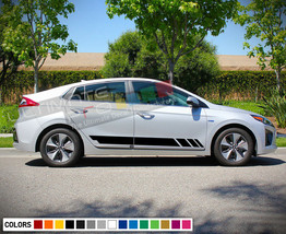 Sticker Decal Stripes for Hyundai Ioniq Headlight Lamp Cover LED Handle Wing - $40.43+