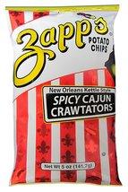 Zapp's Kettle Style Potato Chips - Cajun Crawtator Flavor - 5 Oz. (8 Bags) - $29.57