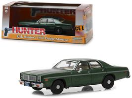 "1978 Dodge Monaco (Rick Hunter\'s) Green \""Hunter\"" (1984-1991) TV Serie... - $30.34"