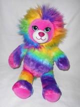Build a Bear Color Craze Rainbow Lion Plush Stuffed Animal Sound Pink Pu... - $26.70