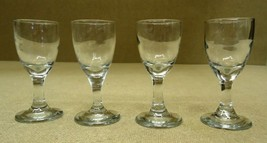 Set of 4 Clear Glass Goblets - $23.19