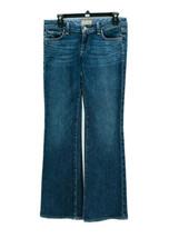 Paige Women's Blue Medium Wash Cotton Blend Hollywood Hills Bootcut Jean... - $19.80