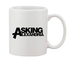 asking alexandria Mugs Cups Mugs & Funny Gift for Coffee Lovers Mug - $16.50