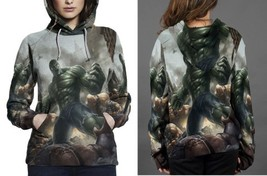 hulk in war image Hoodie Women's - $44.99+