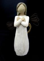 "Willow Tree Demdaco Angel SIGN FOR LOVE Figurine 2003 Susan Lordi 4.5"" - $22.95"