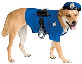 Rubie's Official Pet Dog Costume, Police - X-large #dff - £22.57 GBP