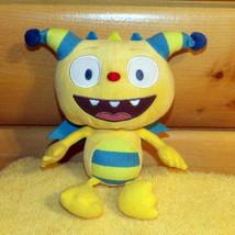 """Disney Henry Hugglemonster Yellow & Blue 8"""" Plush Smiles For You - $7.29"""