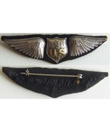 WWI Dallas US Pilot Wings BB&B Sterling     - $250.00