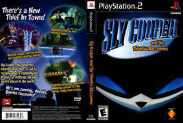 Sly Cooper and the Thevius Raccoonus CUSTOM PS2 CASE (NO GAME!!!!!!!!) - $5.64