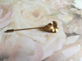 Vintage Leaf Stick Pin, Hat Pin, Leaf Pin, Vintage Collectible, Vintage ... - $10.00