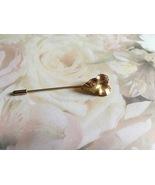 Vintage Leaf Stick Pin, Hat Pin, Leaf Pin, Vint... - $10.00