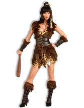 Forum Novelties Women's Cave Cutie Costume, Brown, Standard - $84.37