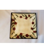 "Mikasa Desert Bloom Salad Plates Set of 3 Gourmet Basics Stoneware 8"" - $93.04"